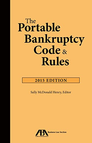 9781634250665: The Portable Bankruptcy Code & Rules