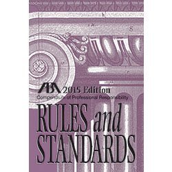 9781634250955: Compendium of Professional Responsibility Rules and Standards, 2015 Edition