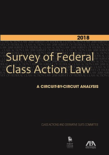 9781634254472: The Law of Class Action: Fifty-State Survey 2015-16