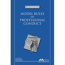 9781634258357: Model Rules of Professional Conduct, 2017