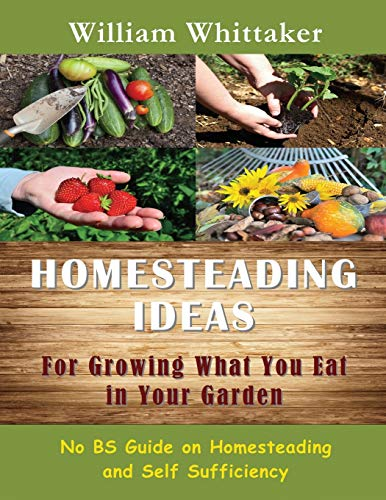 9781634281928: Homesteading Ideas for Growing What You Eat in Your Garden: No Bs Guide on Homesteading and Self Sufficiency