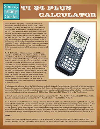 9781634289429: Ti-84 Plus Calculator