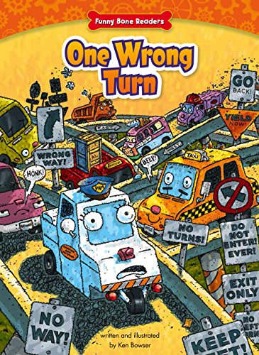 9781634400787: One Wrong Turn: Helping Those in Need (Funny Bone Readers: Truck Pals)