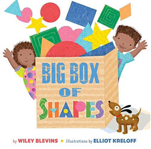 9781634400824: Big Box of Shapes (Rocking Chair Kids: Basic Concepts)