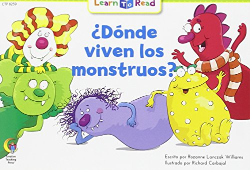 9781634456623: Donde Viven Los Monstruos? = Where Do Monsters Live? (English and Spanish Edition)