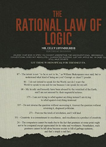 9781634496247: The Rational Law of Logic