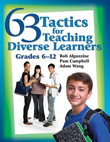 63 Tactics for Teaching Diverse Learners: Grades 6-12: Algozzine, Bob