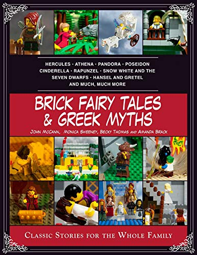 Brick Fairy Tales and Greek Myths: Box Set: Classic Stories for the Whole Family: Brack, Amanda, ...