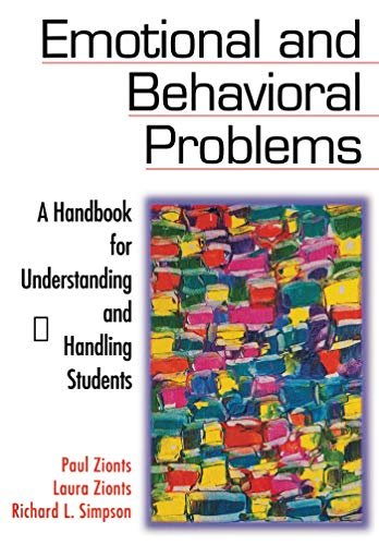 9781634507783: Emotional and Behavioral Problems: A Handbook for Understanding and Handling Students