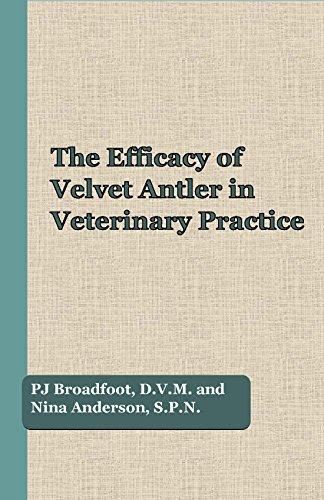 9781634527590: The Efficacy of Velvet Antler in Veterinary Practice