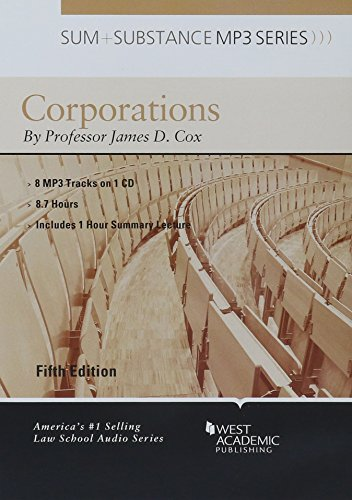 9781634592642: Sum and Substance Audio on Corporations