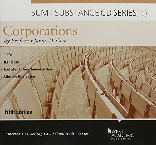 9781634592659: Sum and Substance Audio on Corporations