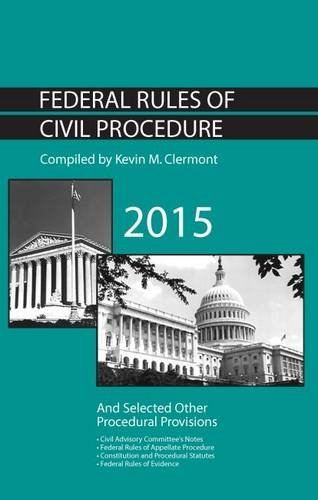 9781634592734: Federal Rules of Civil Procedure and Selected Other Procedural Provisions (Selected Statutes)