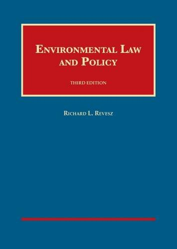 9781634592765: Environmental Law and Policy (University Casebook Series)