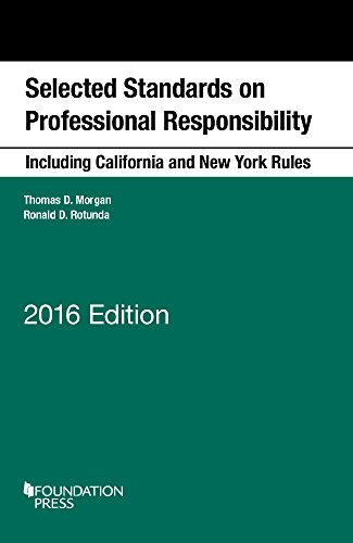 9781634593960: Selected Standards on Professional Responsibility, 2016 (Selected Statutes)