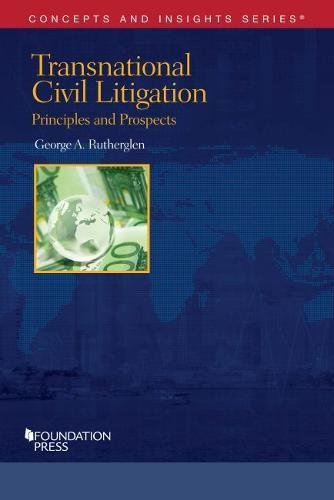 9781634595001: Transnational Civil Litigation (Concepts and Insights)