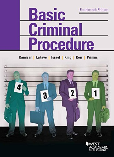 9781634595018: Basic Criminal Procedure: Cases, Comments and Questions (American Casebook Series)
