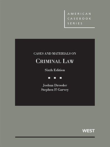 9781634595230: Cases and Materials on Criminal Law, 6th – CasebookPlus (American Casebook Series)