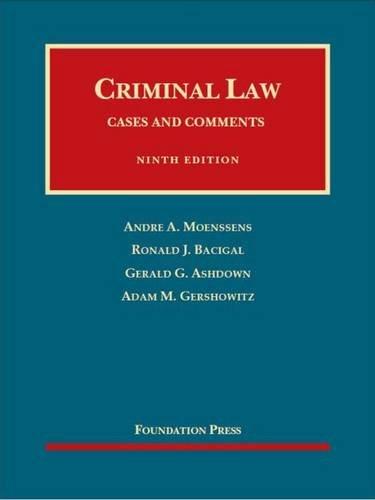 9781634595254: Criminal Law, 9th – CasebookPlus (University Casebook Series)