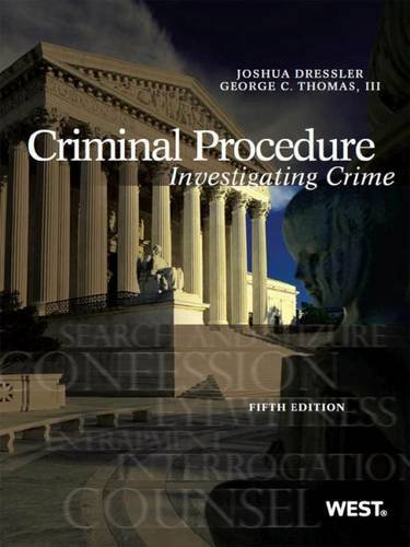 9781634595261: Criminal Procedure: Investigating Crime, 5th – CasebookPlus (American Casebook Series)