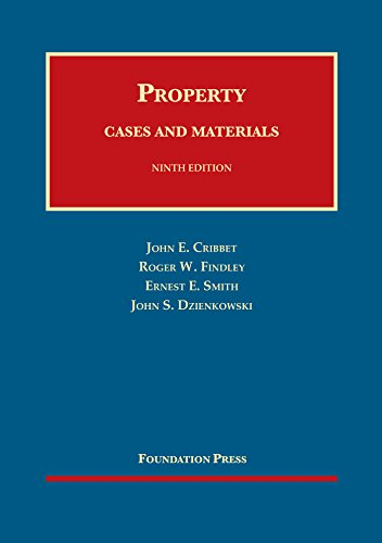 9781634595414: Property Cases and Materials, 9th – CasebookPlus (University Casebook Series)