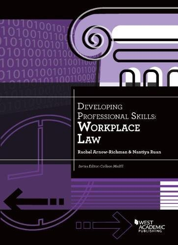 9781634596053: Developing Professional Skills: Workplace Law