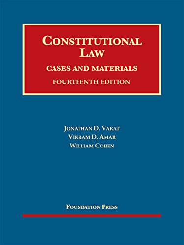 9781634596466: Constitutional Law, Cases and Materials, 14th – CasebookPlus (University Casebook Series)