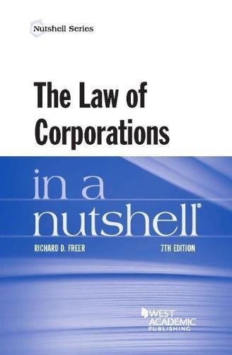 9781634597012: The Law of Corporations in a Nutshell