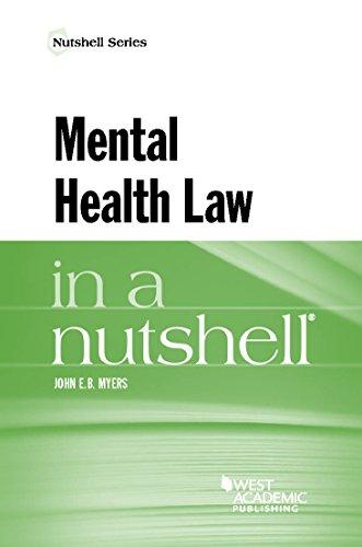 9781634598897: Mental Health Law in a Nutshell (Nutshells)