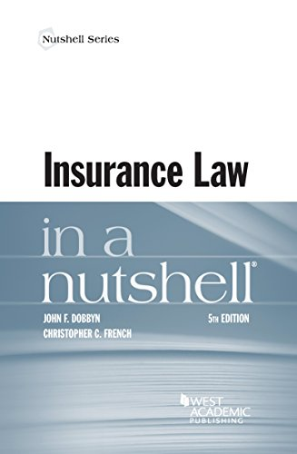9781634599191: Insurance Law in a Nutshell (Nutshells)