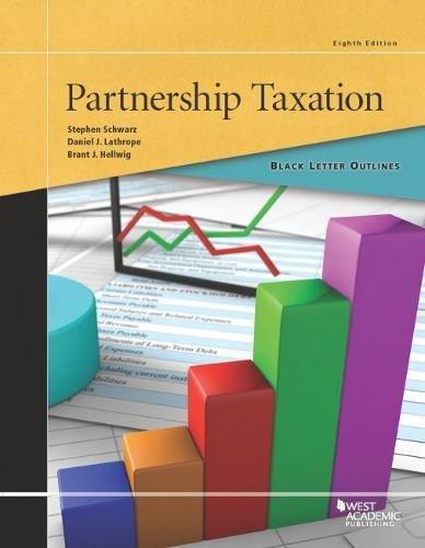 9781634602921: Black Letter Outline on Partnership Taxation (Black Letter Outlines)