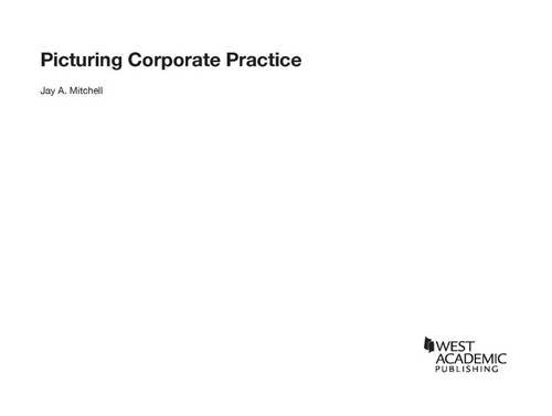 9781634604642: Picturing Corporate Practice (Career Guides)
