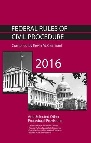9781634605625: Federal Rules of Civil Procedure and Selected Other Procedural Provisions (Selected Statutes)
