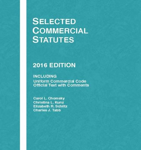 9781634607490: Selected Commercial Statutes (Selected Statutes)