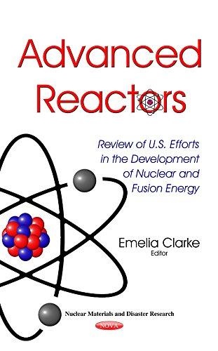 Advanced Reactors (Nuclear Materials Disaster Res): Emelia Clarke