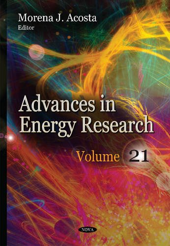Advances in Energy Research. Volume 21 (Hardcover)