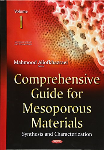 9781634639583: Comprehensive Guide for Mesoporous Materials: 1 (Materials Science and Technolo)