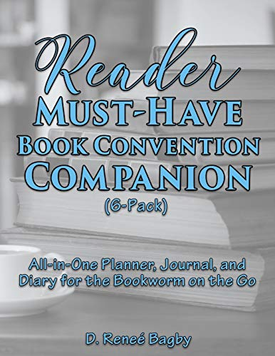 Reader Must-Have Book Convention Companion (6-Pack): All-In-One Planner, Journal, and Diary for the...