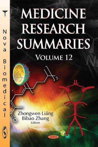 Medicine Research Summaries: Liang, Zhongwen