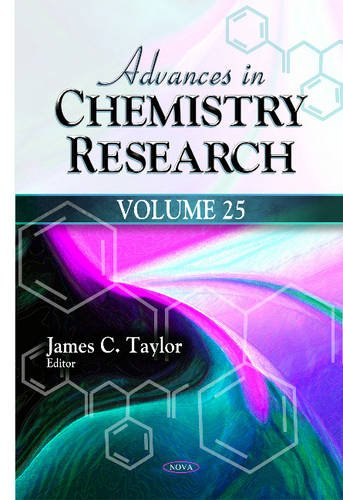 Advances in Chemistry Research: Taylor, James C