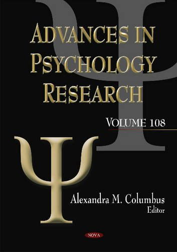 Advances in Psychology Research: Columbus, Alexandra M