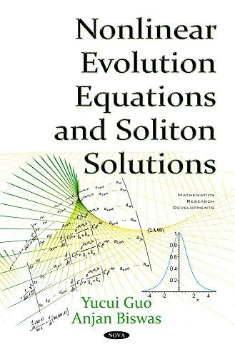 Nonlinear Evolution Equations Soliton Solutions (Hardback): Yucui Guo