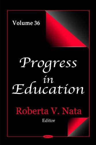 Progress in Education: 36 (Hardcover)