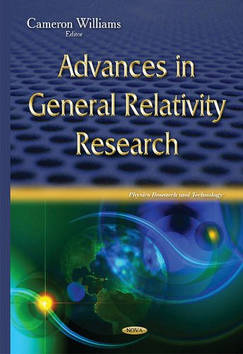 9781634831208: Advances in General Relativity Research (Physics Research and Technology)