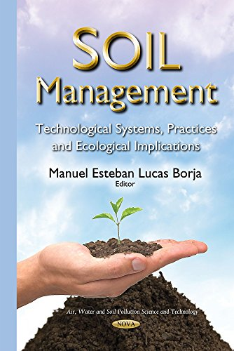 Soil Management (Air Water and Soil Pollution Science and Technology) (Hardcover)