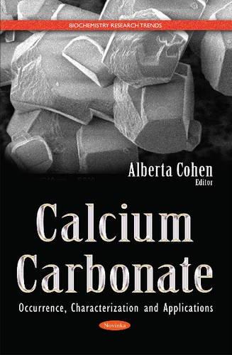 Calcium Carbonate (Biochemistry Research Trends) (Hardcover)