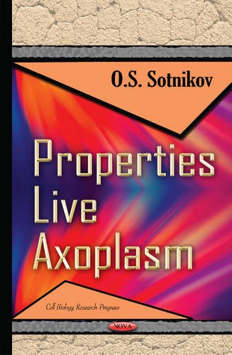 Properties Live Axoplasm (Cell Biology Research Progress) (Hardcover)