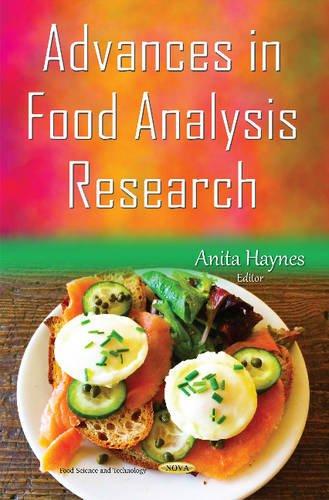 Advances in Food Analysis Research: Haynes, Anita