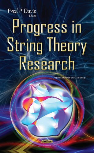 9781634840057: Progress in String Theory Research (Phuysics Research and Technology)