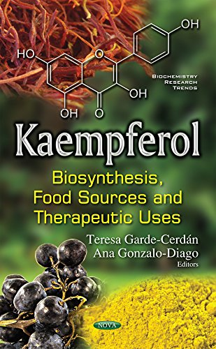 9781634858281: Kaempferol: Biosynthesis, Food Sources & Therapeutic Uses (Biochemistry Research Trends S)